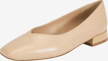 Ekonika Ballet Flats in Beige