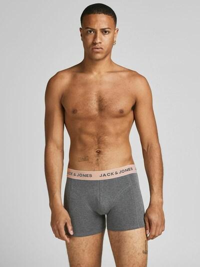 JACK & JONES Boxershorts 'Timo' in gelb / grau / pfirsich / schwarz, Modelansicht