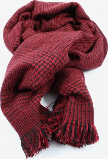ESPRIT Fransenschal in One Size in rot / schwarz, Produktansicht