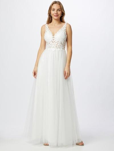 mascara Společenské šaty - bílá, Model/ka