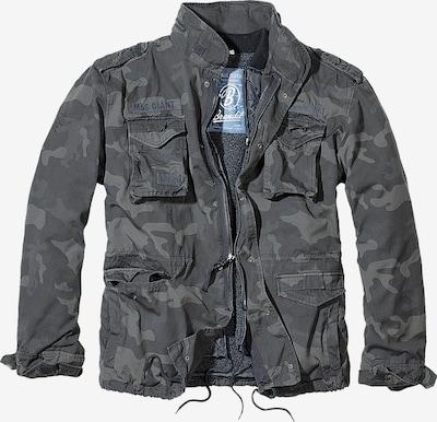 Brandit Tussenjas 'M-65 Giant' in de kleur Grijs / Basaltgrijs / Donkergrijs, Productweergave