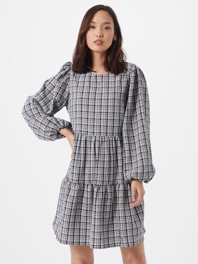 PIECES Šaty - čierna / biela, Model/-ka