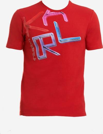 Karl Lagerfeld Shirt in de kleur Blauw / Lila / Pink, Productweergave