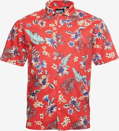 Superdry Overhemd in de kleur Lichtrood, Productweergave