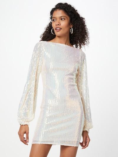 CLUB L LONDON Šaty 'SEQUIN' - krémová, Model/-ka