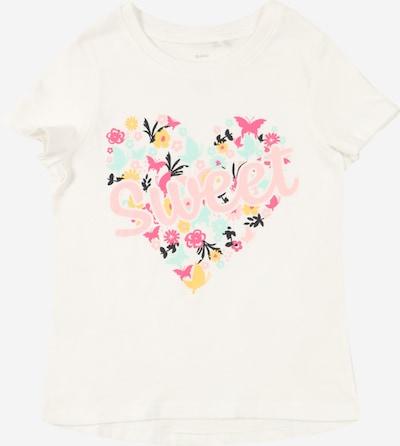 Guppy T-Shirt 'JANE' en mélange de couleurs / blanc, Vue avec produit