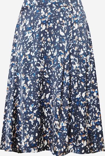 KAFFE CURVE Sukně - tmavě modrá / mix barev, Produkt