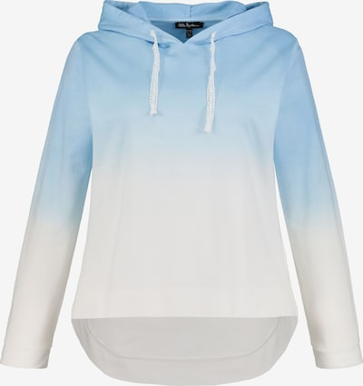 Ulla Popken Hoodie '727369' in hellblau / weiß, Produktansicht