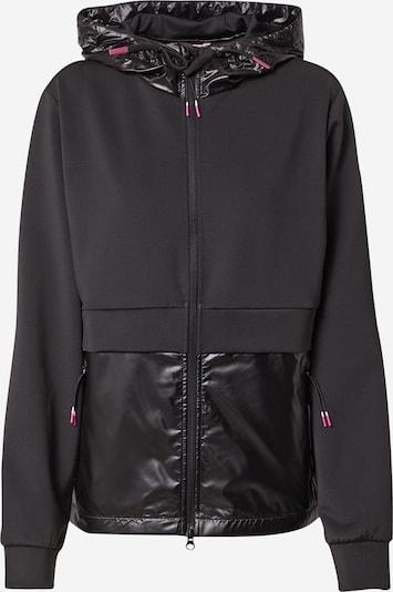 ESPRIT SPORT Спортна жилетка с качулка в черно, Преглед на продукта
