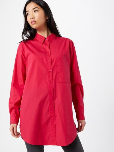 BOSS Bluse i lyserød, Modelvisning