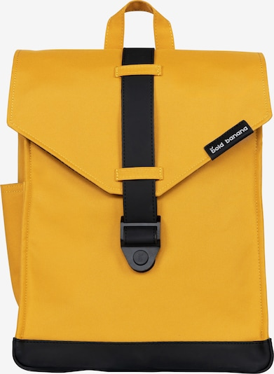 Bold Banana Backpack 'Raven' in Yellow / Black, Item view