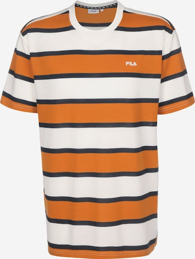 FILA T-Shirt in marine / orange / weiß, Produktansicht