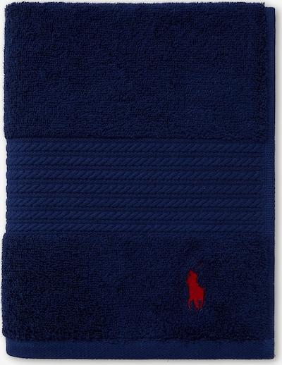 RALPH LAUREN Duschtuch 'POLO PLAYER' in blau / navy / dunkelblau, Produktansicht
