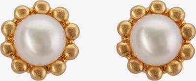 Sence Copenhagen Earrings in Gold / Pearl white, Item view