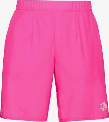 BIDI BADU Shorts Henry 2.0 mit elastischem Bund in Pink