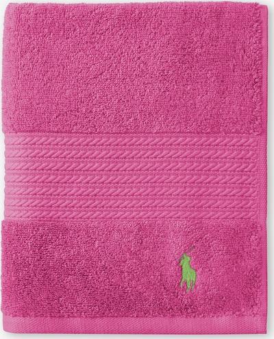 RALPH LAUREN Handtuch 'POLO PLAYER' in pink, Produktansicht