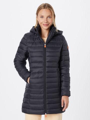 SAVE THE DUCK Prechodný kabát 'CAROL' - Čierna