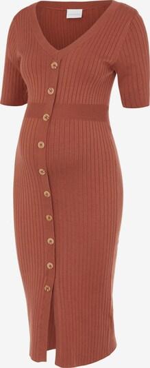 MAMALICIOUS Gebreide jurk 'Dia' in de kleur Chamois, Productweergave