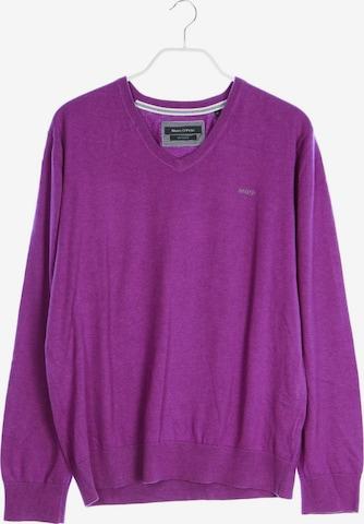 Marc O'Polo Baumwoll-Pullover in XL in Lila