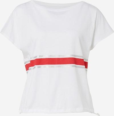 ESPRIT SPORT Tehnička sportska majica u crvena / bijela, Pregled proizvoda
