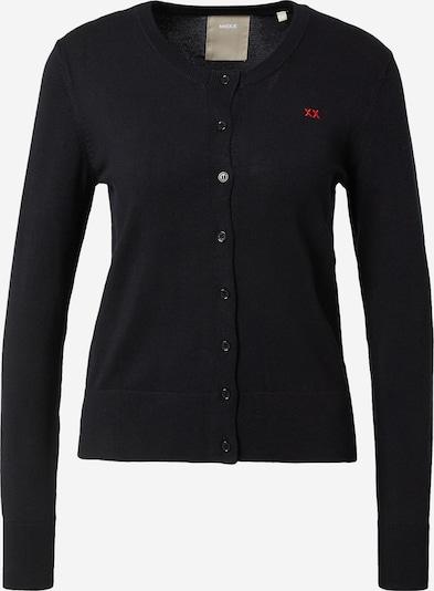 MEXX Gebreid vest 'Susan' in de kleur Zwart, Productweergave