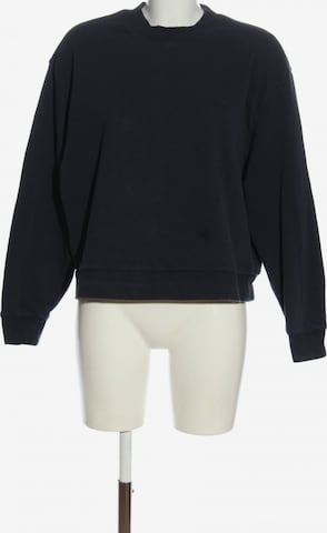 WEEKDAY Sweatshirt & Zip-Up Hoodie in S in Blue