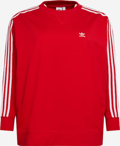 ADIDAS ORIGINALS Sweatshirt in Red / White, Item view