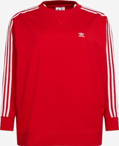 ADIDAS ORIGINALS Sweatshirt in de kleur Rood / Wit, Productweergave