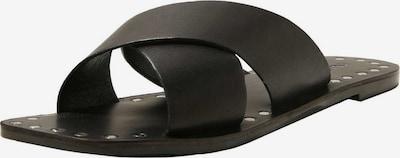 INUOVO Pantolette in schwarz: Frontalansicht