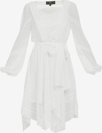 faina Kleid in weiß, Produktansicht