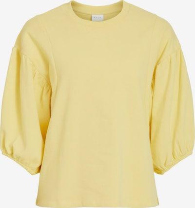 VILA Sweatshirt in gelb, Produktansicht
