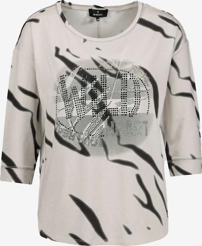 monari Shirt in de kleur Beige / Zwart, Productweergave