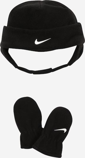 Nike Sportswear Set 'NAN' in schwarz / weiß, Produktansicht