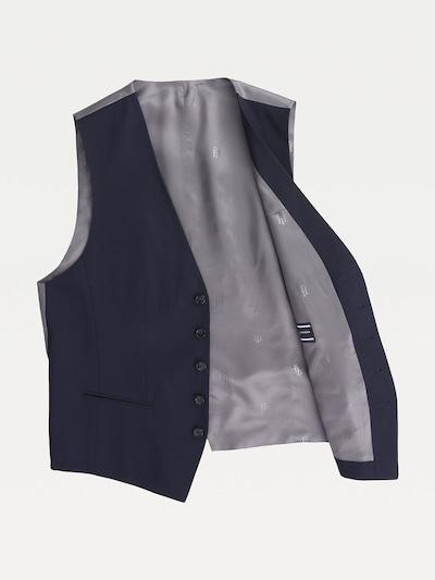 TOMMY HILFIGER Monogram Logo Wool Waistcoat in blau, Produktansicht