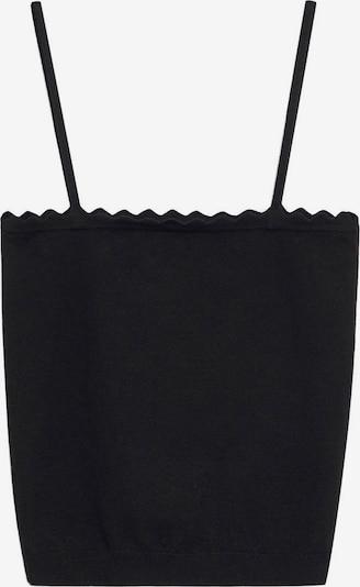 MANGO Top 'MISPIA' in schwarz, Produktansicht