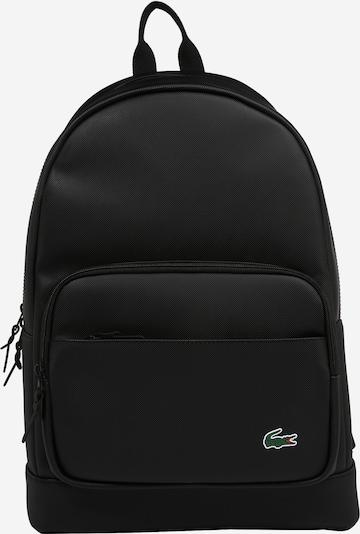LACOSTE Batoh - zelená / červená / čierna / biela, Produkt