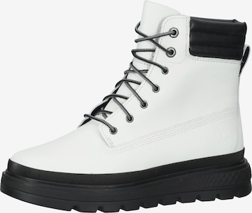 TIMBERLAND Lace-Up Ankle Boots 'Ray City' in White