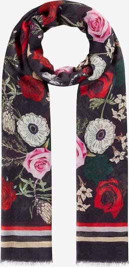 CODELLO Edel-Schal aus Modal und Seide in schwarz, Produktansicht