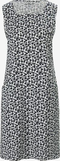 Green Cotton Kleid in schwarz / weiß, Produktansicht