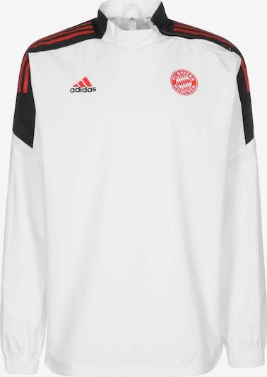 ADIDAS PERFORMANCE Sweatshirt in rot / schwarz, Produktansicht