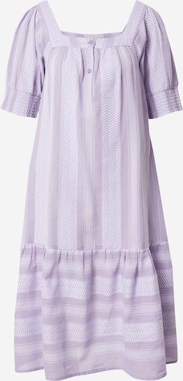 Cecilie Copenhagen Vestido 'Makena' en lila / blanco, Vista del producto