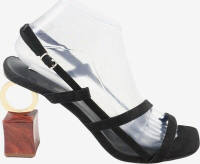 Ipekyol Riemchen-Sandaletten in 39 in braun / gold / schwarz, Produktansicht
