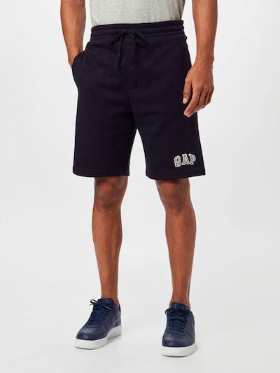 GAP Nohavice - svetlofialová / čierna / biela, Model/-ka