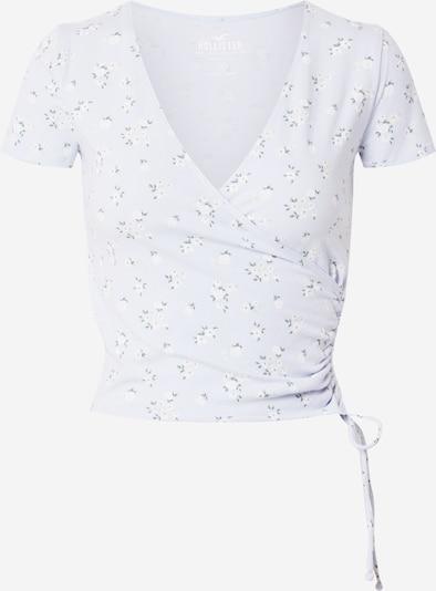HOLLISTER Shirt in de kleur Lichtblauw / Groen / Wit, Productweergave