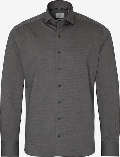 ETERNA Hemd in dunkelgrau / schwarz, Produktansicht