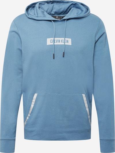 Calvin Klein Performance Bluzka sportowa w kolorze podpalany niebieski / białym, Podgląd produktu