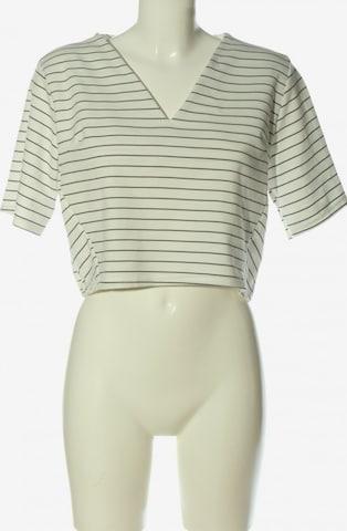 Daisy Street Cropped Shirt in S in Weiß