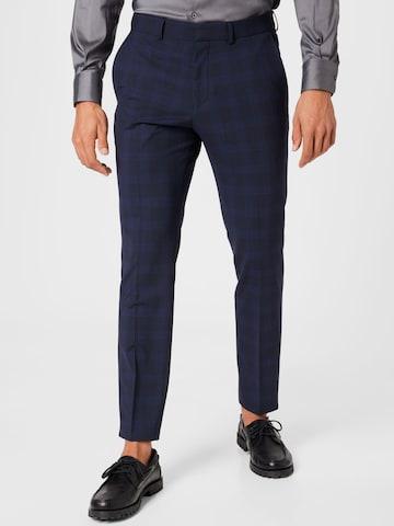 Pantaloni con piega frontale di s.Oliver BLACK LABEL in blu