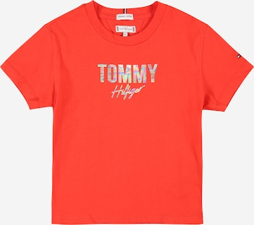 TOMMY HILFIGER Shirt in Rot