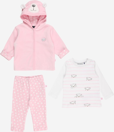 BLUE SEVEN Set in Pink / White, Item view